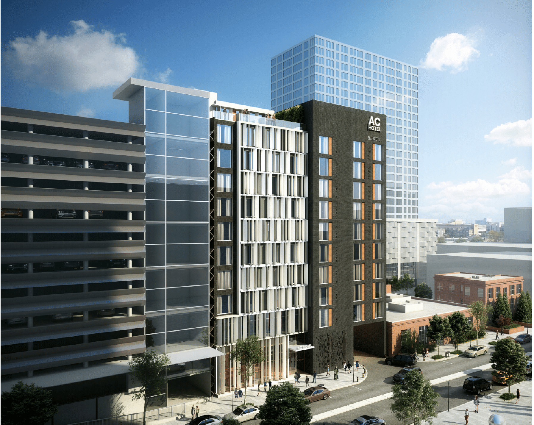 1a59de6f AC Hotel gets positive conceptual review from Clayton Plan Commission