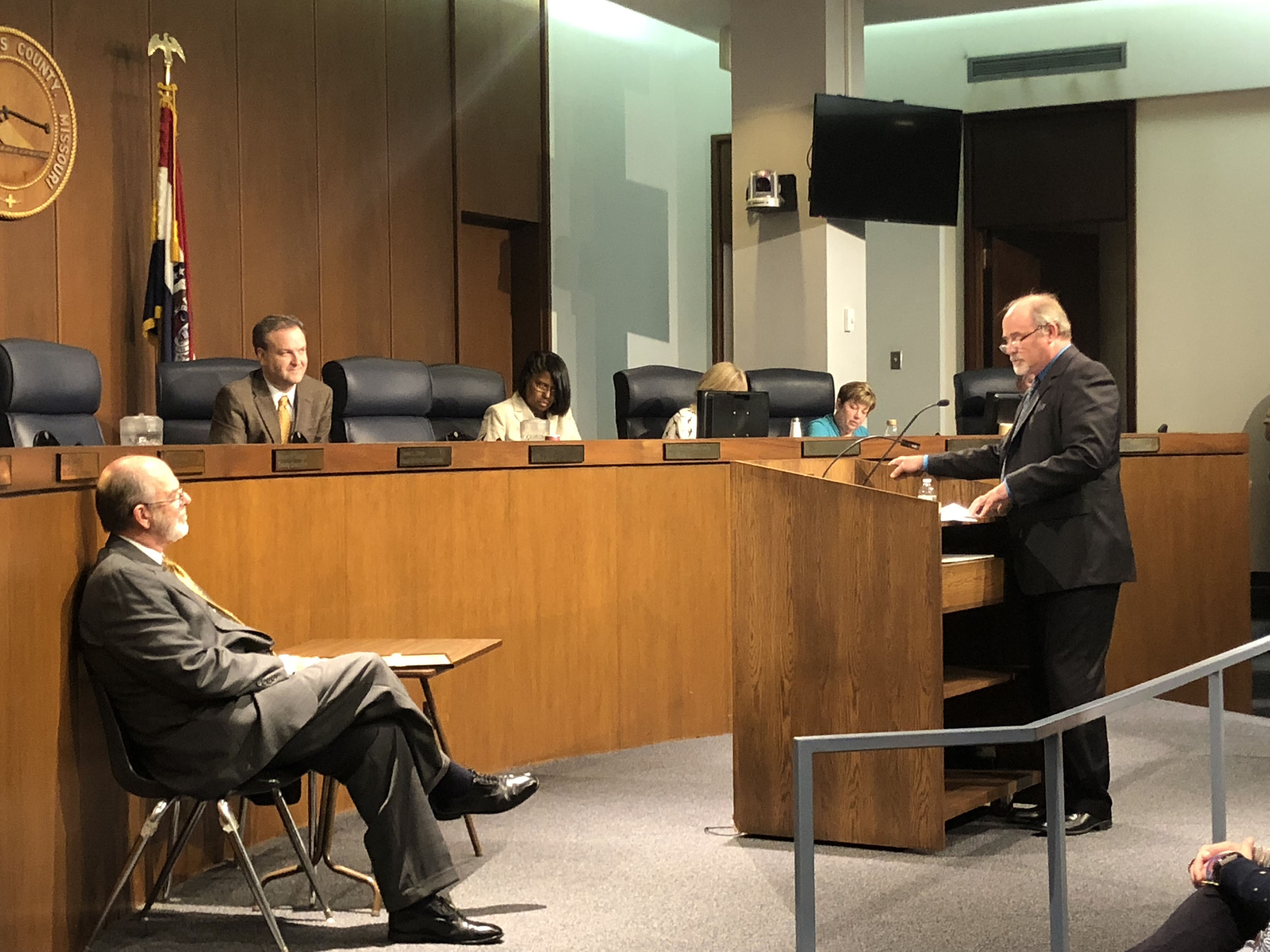Judge Beach honored during County Council meeting – Clayton